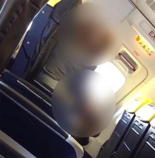 Dublin-İzmir uçağında rezalet