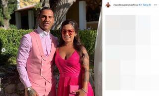 Quaresmanın giydiği kıyafet sosyal medyayı salladı
