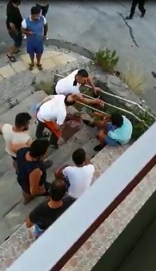 Antalyada tacizciye meydan dayağı