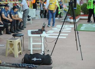 Ersun Yanal, drone ile takip etti