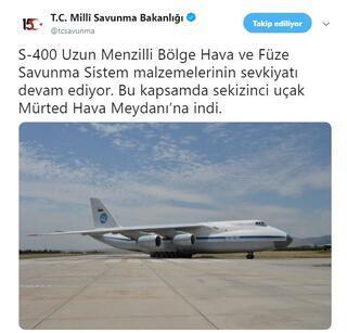 SON DAKİKA...9. uçak Ankarada