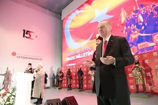 Cumhurbaşkanı Erdoğan: Sakalımızı kestiler ama daha gür çıktı