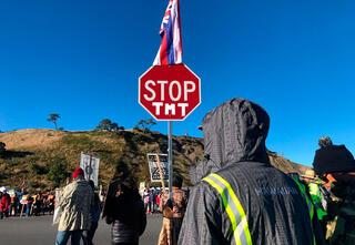Dev proje yerlileri sokağa döktü