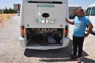 Yolcu minibüsünün içini gören şaşkına dönüyor İnsan inmek istemiyor