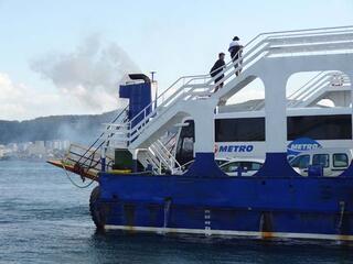 Son dakika   Çanakkale Boğazında sefer yapan feribotta yangın
