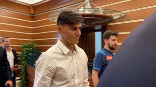 Eljif Elmas, Napoli kulüp binasında İşte o görüntüler...
