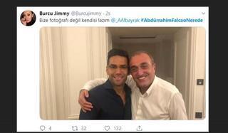 Galatasarayda Abdurrahim Albayraka Falcao tepkisi