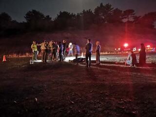 Kütahyada otomobil yayalara çarptı Ölü ve yaralılar var...