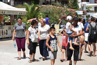 Sakin şehirde nüfus 25 kat arttı