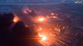 Çin'de fabrikada büyük patlama