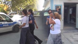 Biri bebekli 4 kadın… Bu halde yakalandı!