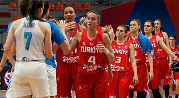 Slovenya-Türkiye: 62-55