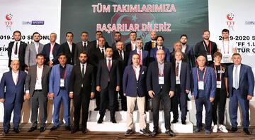 TFF 1. Lig'de 2019-2020 sezonunun fikstür çekimi yapıldı