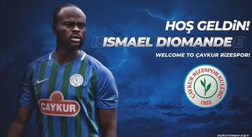Çaykur Rizespor, Ismael Diomande'yi kadrosuna kattı