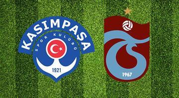 Kasımpaşa Trabzonspor maçı ne zaman saat kaçta hangi kanalda?