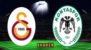 Galatasaray - Konyaspor maçı saat kaçta, hangi kanalda yayınlanacak?