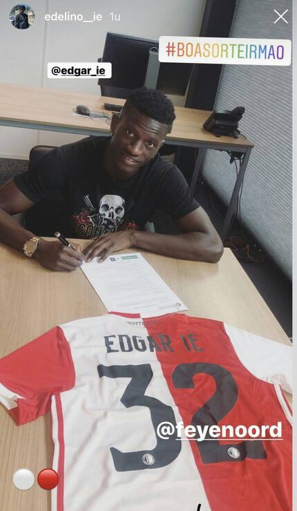 Trabzonspor, Edgar Leyi Feyenoorda kiraladı