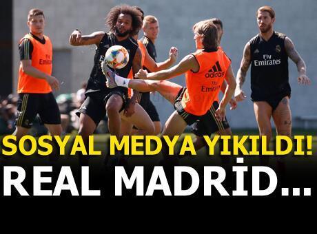 Sosyal medya yıkıldı! Real Madrid...