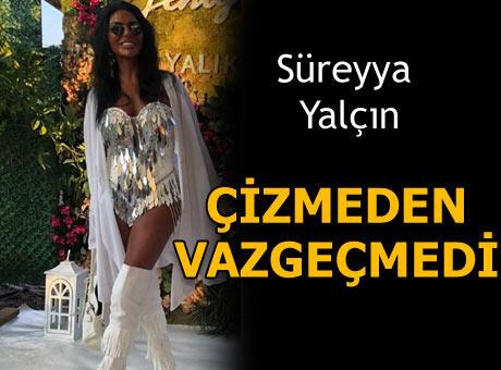 Süreyya Yalçın'ın çizme aşkı