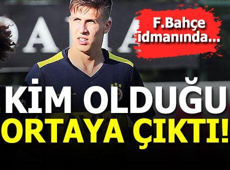 Fenerbahçe idmanında 1.90'lık stoper