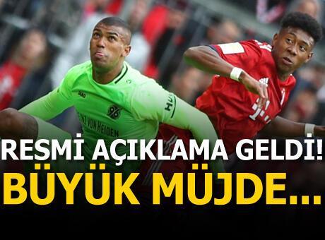 Beşiktaş'a Walace'ta müjdeli haber!
