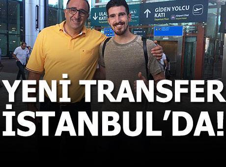 Nando de Colo İstanbul'a geldi