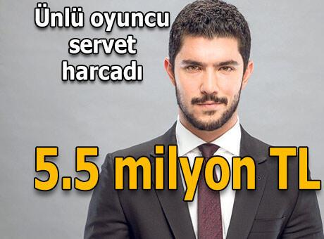 5.5 milyonluk ev aldı