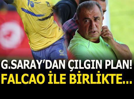 Galatasaray'dan çılgın plan! Falcao ile birlikte...