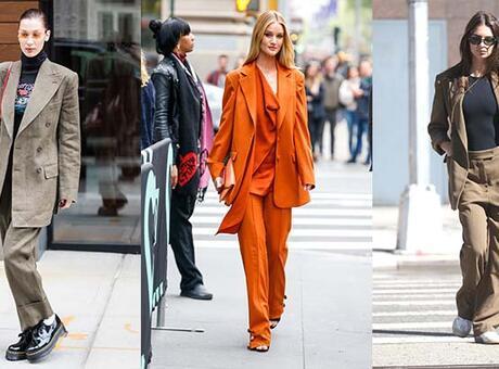 Sonbaharda takım elbise nasıl giyilir?