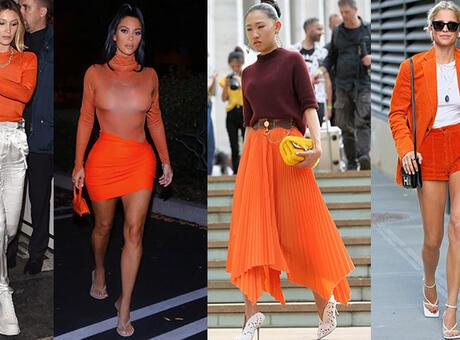 2020 İlkbahar/Yaz sezonu 'turuncu' geçecek