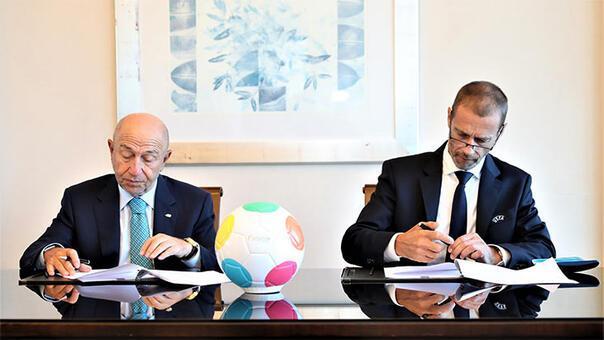 TFF ile UEFA Çocuk Vakfı, Suriyeli çocuklara yardım için iş birliği protokolü imzaladı