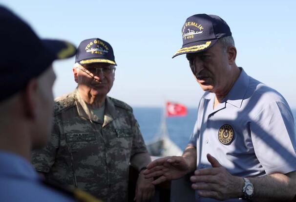 Son dakika... Bakan Akardan Doğu Akdenizde net mesaj: Gücümüzü, kuvvetimizi kimse test etmesin