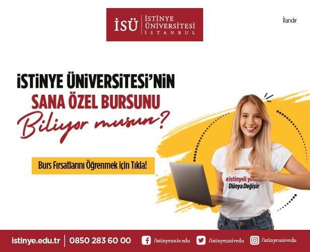 İstinye Üniversitesi'nin Sana Özel Bursunu Biliyor musun?