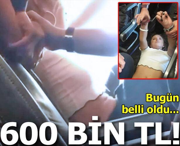 Londra-Dalaman uçağında olay çıkaran İngiliz yolcuya 85 bin sterlin para cezası