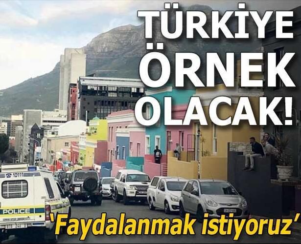 Türkiye örnek olacak! 'Faydalanmak istiyoruz'
