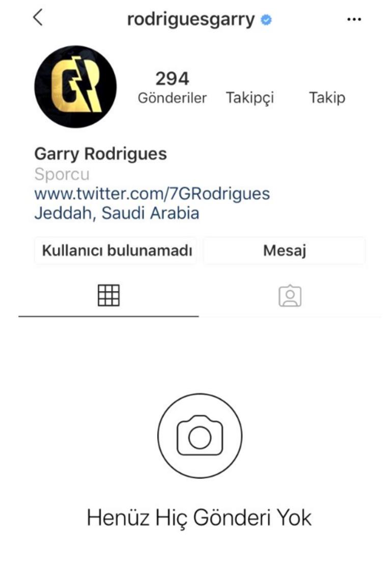Garry Rodrigues'e Galatasaray taraftarından şok