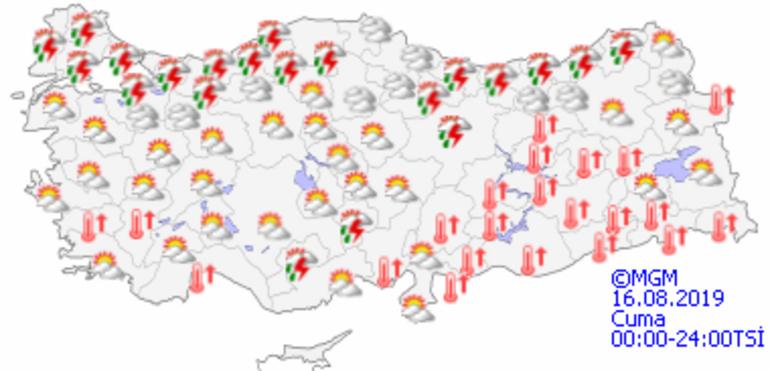 Hava durumu bayramın son gününde nasıl olacak Meteorolojiden sıcaklık uyarısı