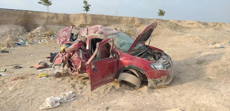 Aksarayda korkunç kaza 3 ölü,4 yaralı