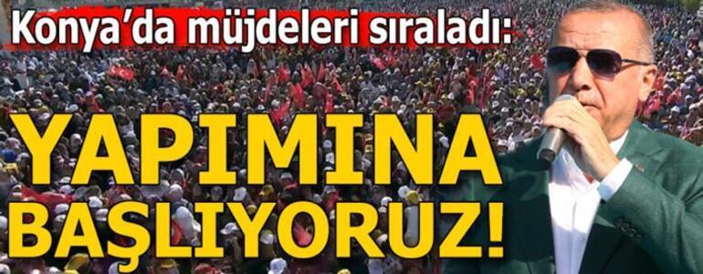Cumhurbaşkanı Erdoğan: Türkiyenin bu meselelerin hiçbirini tribünden seyretme lüksü yoktur