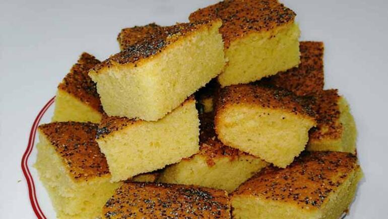5e1ebbcf55428115447557a0 - Mısır unu lezzeti: Gülüt kek