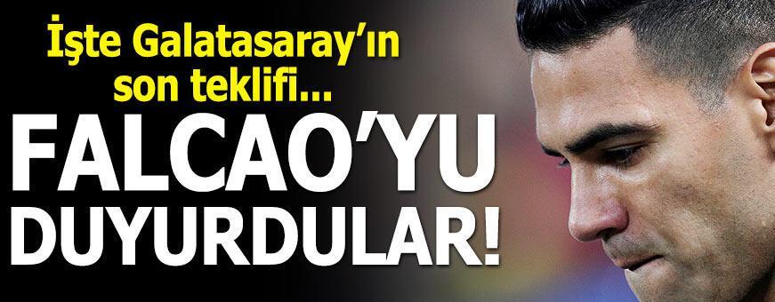 İşte Galatasaray'ın son Falcao teklifi!