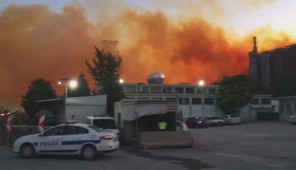 Son dakika | Kütahyada azot fabrikasında patlama