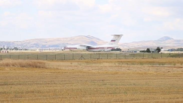 Son dakika... S-400ler Türkiyede İlk parçalar Ankaraya indi