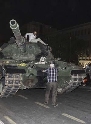 Türkiyenin en karanlık ve kanlı gecesinde yaÅ?ananlar