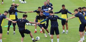Fenerbahçe hücum çalışması yaptı