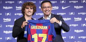 Barcelona, Griezmann'ı tanıttı