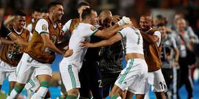 Cezayir 90+5'te bulduğu golle finalde! Feghouli ve Diagne...