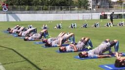 Trabzonspor, hazırlıklarını sürdürdü