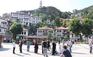 Sakin kente turist akını