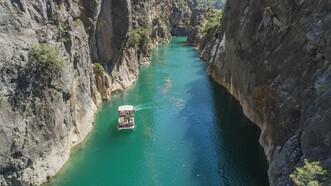 Doğa harikası Nadire Kanyonu